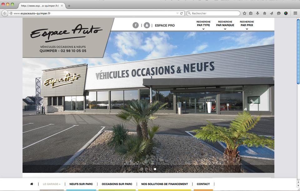 Site internet pour garage automobile