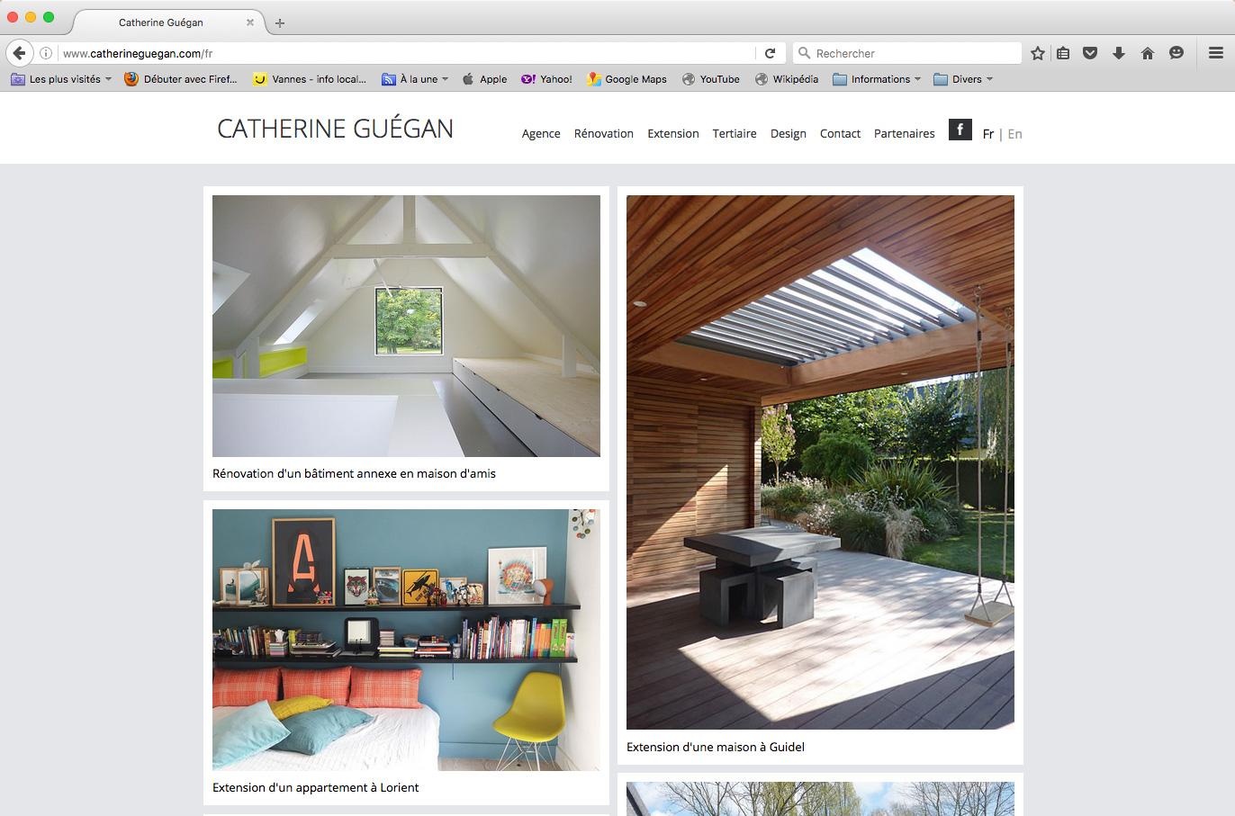 Site internet architecture