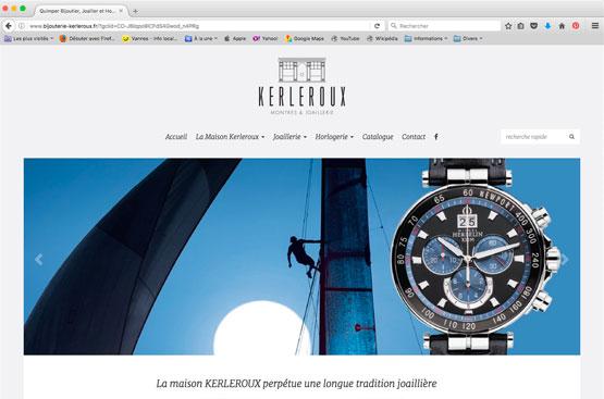 Site internet bijouterie