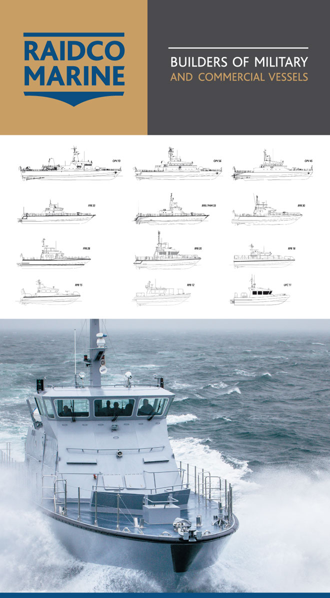 Raidco Marine, builders of military and commercial vessels