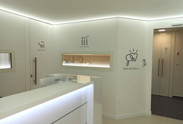 Gwendal Hasson, Signalétique cabinet dentaire
