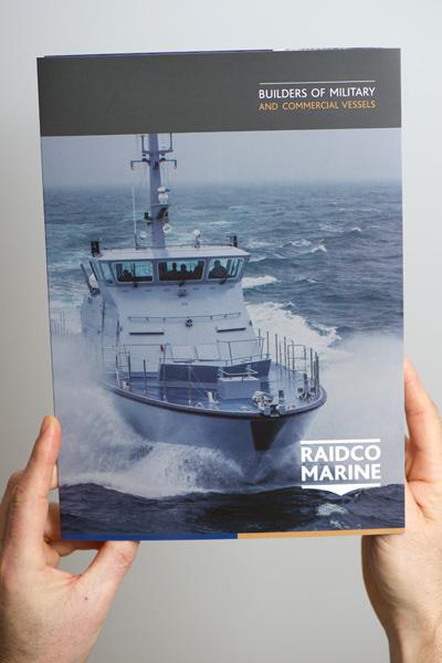 Gwendal Hasson, Plaquette Raidco Marine