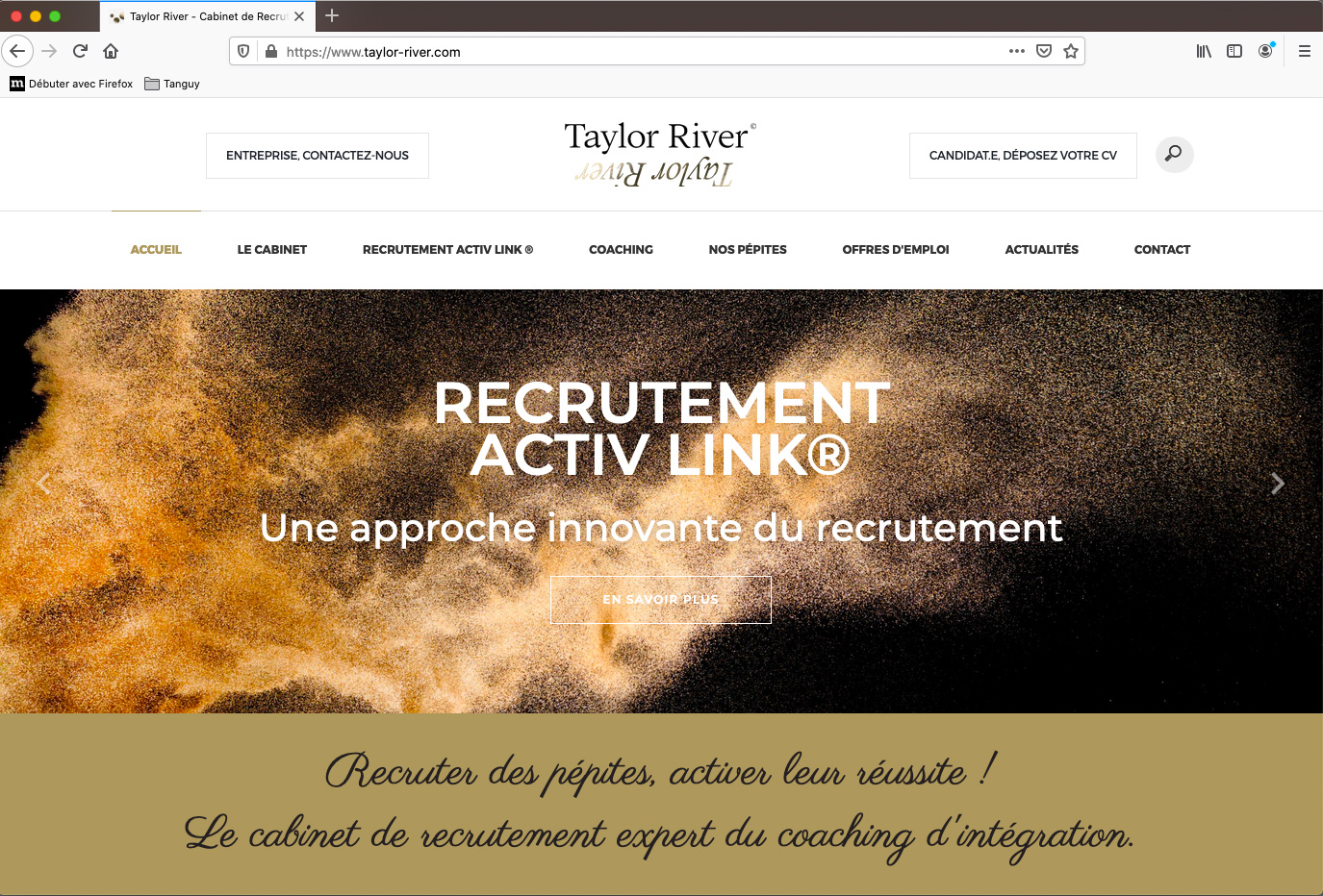 Gwendal Hasson, web design