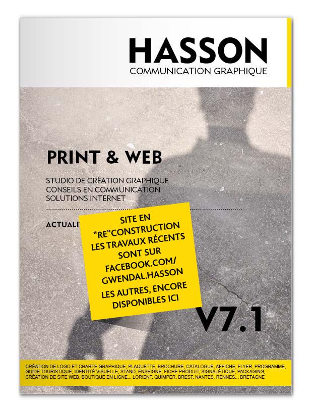 Gwendal Hasson, graphiste en Bretagne